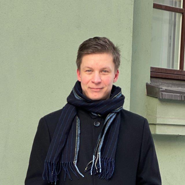 Ajan vaikuttaja –henkilökuva: Juuso Pahlstén
