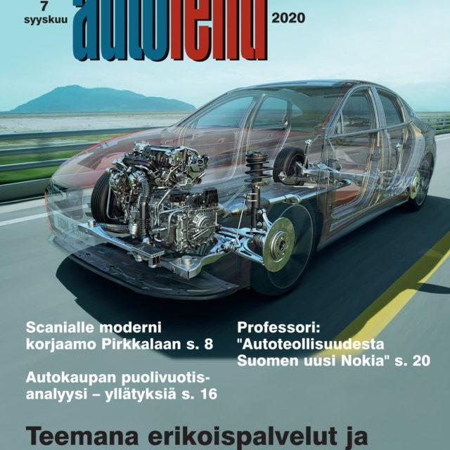 Suomen Autolehti 7/2020 ilmestyy keskiviikkona 2.9.2020
