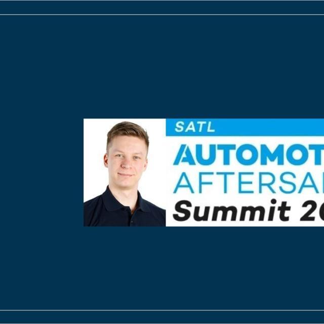Juuso Pahlstén esitelmöi vuoden 2020 Aftersales Summitissa sähköautojen latausasioista