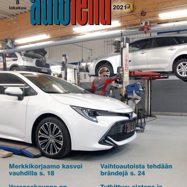 Suomen Autolehti 8/2021 ilmestyy viimeistään maanantaina 4.10.2021