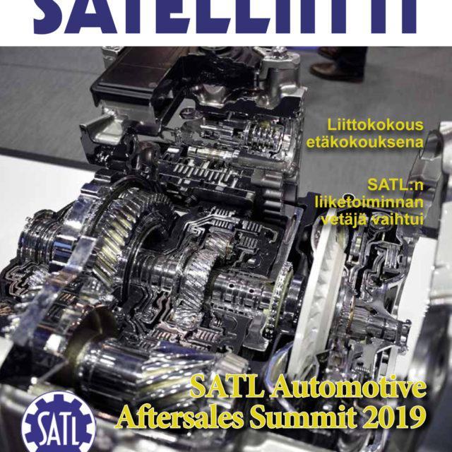 40 vuotta täyttävän Satelliitti-jäsenlehden tämän vuoden ensimmäinen numero on ilmestynyt