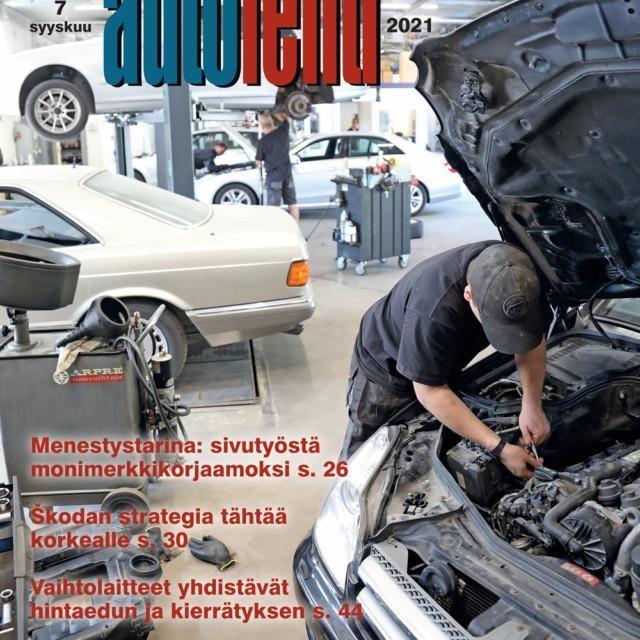 Suomen Autolehti 7/2021 ilmestyy viimeistään perjantaina 3.9.2021