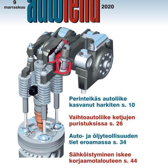 Suomen Autolehti 9/2020 ilmestyy maanantaina 2.11.2020