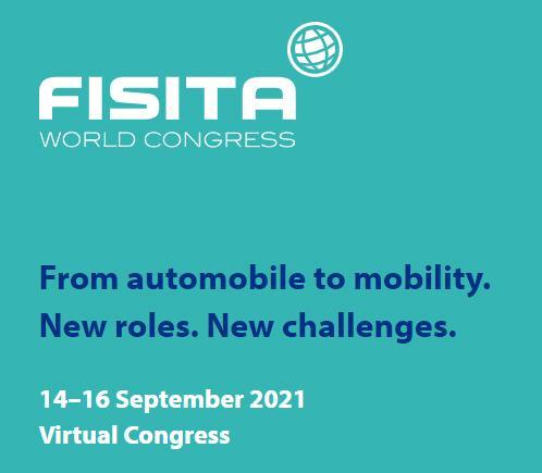 FISITA:n maailmankongressi järjestetään etänä 14.-16.9.2021