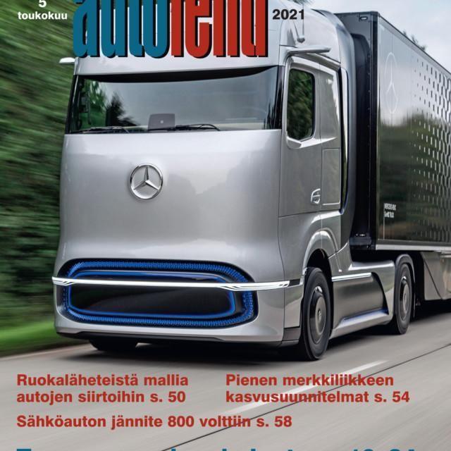 Suomen Autolehti 5/2021 ilmestyy viimeistään keskiviikkona 5.5.2021