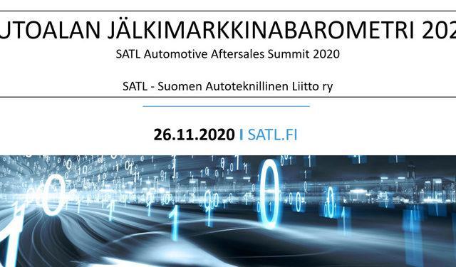 SATL Jälkimarkkinabarometri 2020 on julkaistu