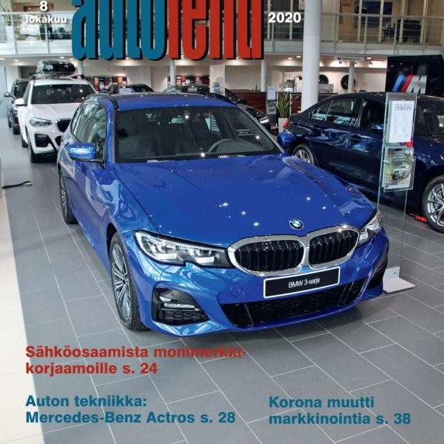 Suomen Autolehti 8/2020 ilmestyy torstaina 1.10.2020