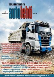 Suomen Autolehti 5/2019 ilmestyy torstaina 2.5.2019
