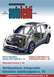 Suomen Autolehti 6/2019 ilmestyy kesäkuun alussa.