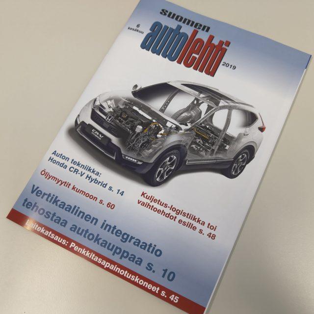 Suomen Autolehti hakee autoinsinööriä toimittajaksi