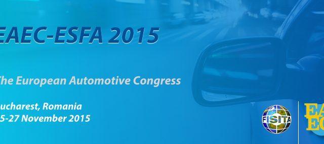 EAEC:n vuoden 2015 kongressi pidetään Romanian Bukarestissa 25.-27.11.2015