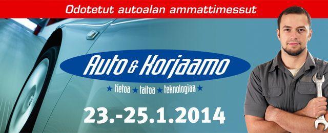 23.-25.1.2014 pidettävien Auto & Korjaamo -messujen ohjelma on julkistettu