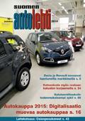 Suomen Autolehti 10/2014 ilmestyy maanantaina 1.12.2014