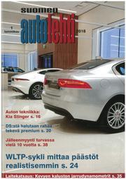 Suomen Autolehti 1/2018 ilmestyy tiistaina 2.1.2018
