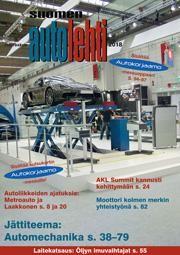 Suomen Autolehti 9/2018 ilmestyy perjantaina 2.11.2018