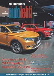 Suomen Autolehti 2/2019 ilmestyy perjantaina 1.2.2019