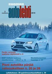 Suomen Autolehti 3/2019 ilmestyy perjantaina 1.3.2019