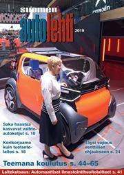 Suomen Autolehti 4/2019 ilmestyy maanantaina 1.4.2019