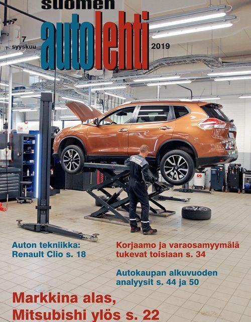 Suomen Autolehti 7/2019 ilmestyy maanantaina 2.9.2019