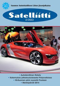 SATL:n jäsenlehti Satelliitti 2/2013 on ilmestynyt