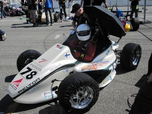 Tampereen Ammattikorkeakoulun Formula Student -projekti, kausi 2010