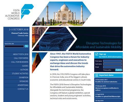 FISITA Travelling Fellowship -ohjelmaan haku on alkanut