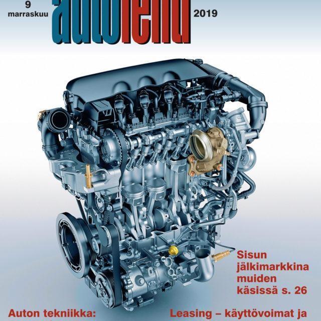 Suomen Autolehti 9/2019 ilmestyy perjantaina 1.11.2019