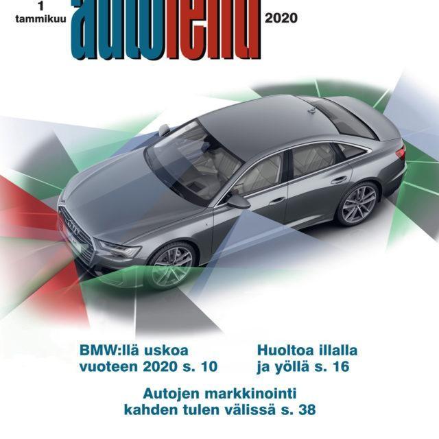 Suomen Autolehti 1/2020 ilmestyy torstaina 2.1.2020