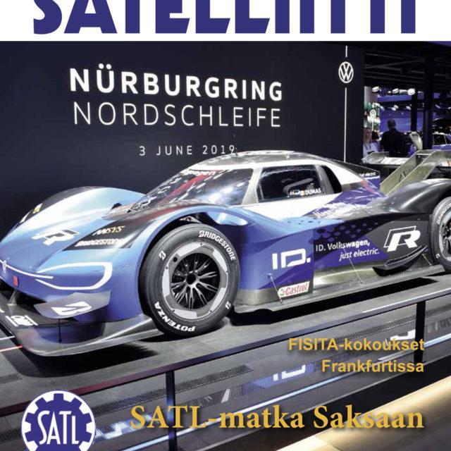 SATL:n jäsenlehti Satelliitti 2/2019 ilmestyi 2.12.2019