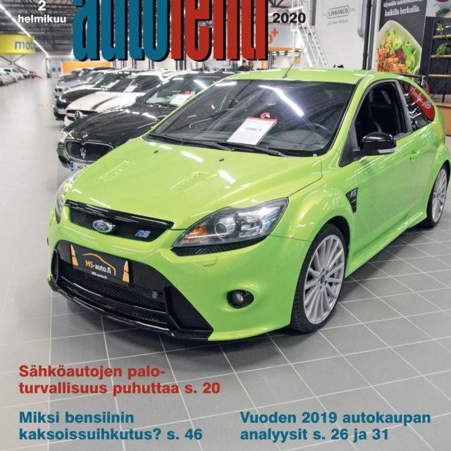 Suomen Autolehti 2/2020 ilmestyy maanantaina 3.2.2020