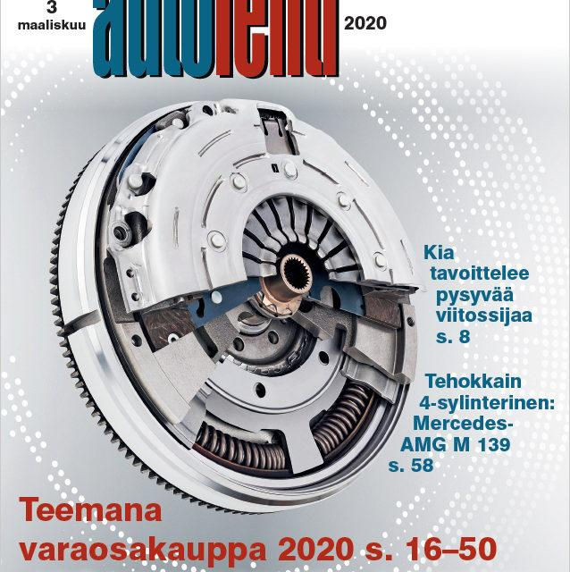 Suomen Autolehti 3/2020 ilmestyy maanantaina 2.3.2020