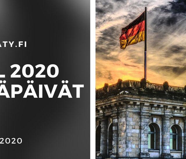 SATL:n vuoden 2020 Kesäpäivät vietetään Saksassa 19.-25.6.2020