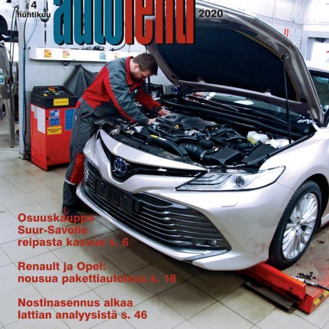 Suomen Autolehti 4/2020 ilmestyy keskiviikkona 1.4.2020