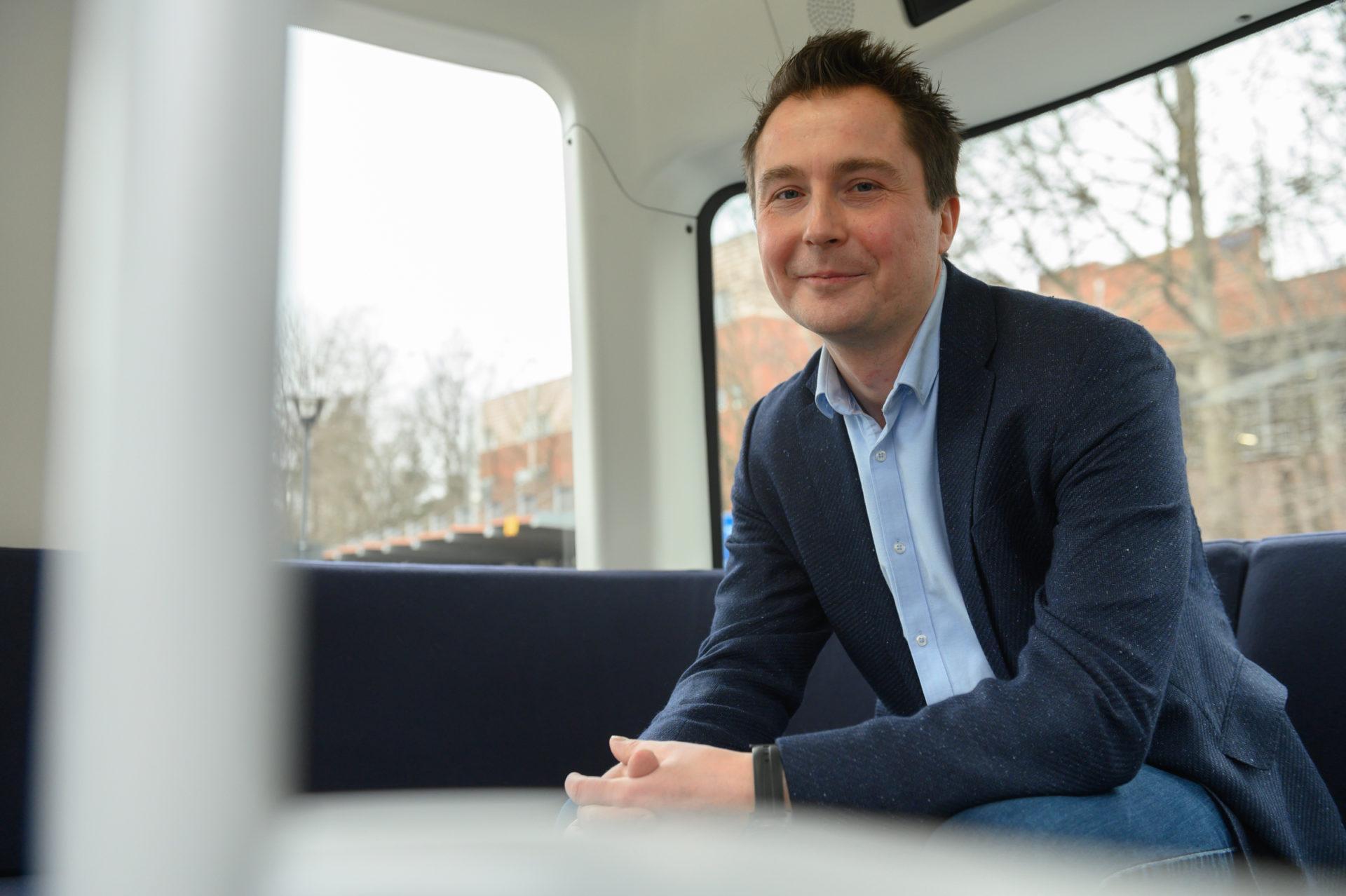 Harri Santamala on yksi Sensible 4 -yrityksen perustajista.