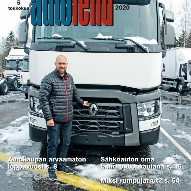Suomen Autolehti 5/2020 ilmestyy maanantaina 4.5.2020