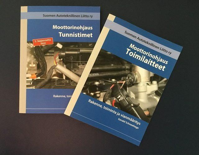 Moottorinohjaus: uutuuskirjat nyt yhdessä edullisemmin
