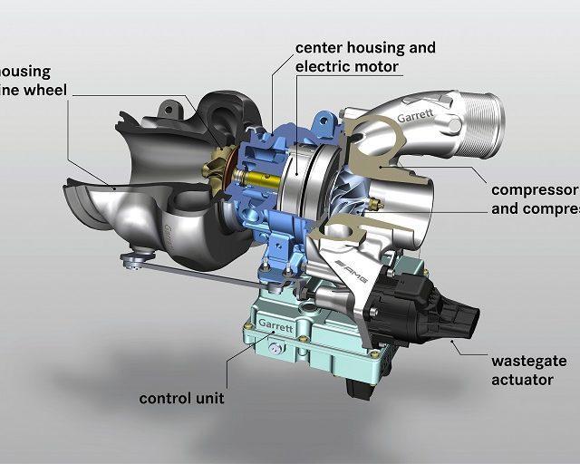Mercedes-AMG sähköistää turboahtimen