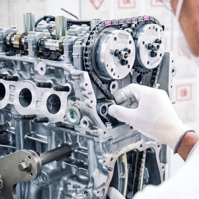 Toyota G16E-GTS: Turbovoimala