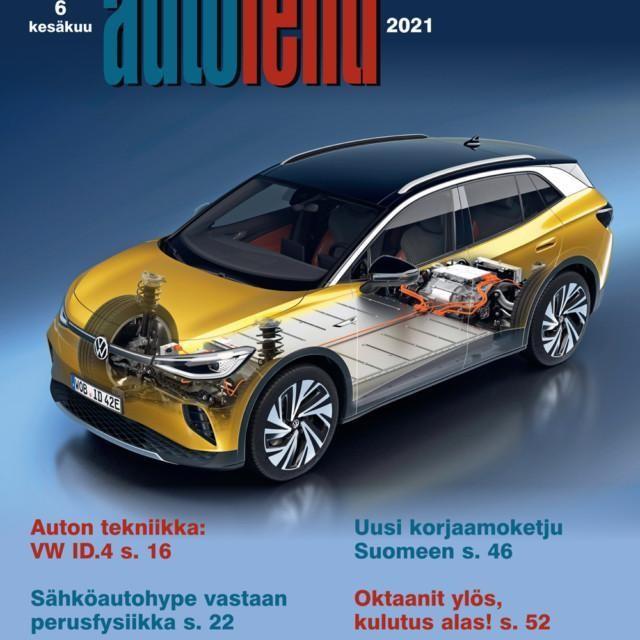 Suomen Autolehti 6/2021 ilmestyy viimeistään keskiviikkona 2.6.2021