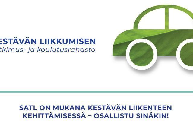 SATL on mukana kestävän liikenteen kehittämisessä – osallistu sinäkin!