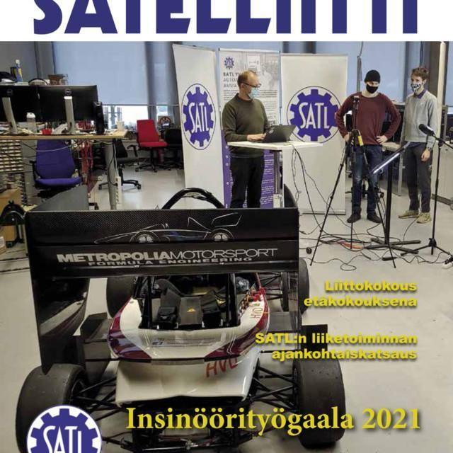 Satelliitti 1/2021 -jäsenlehti on ilmestynyt